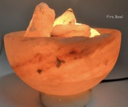 SALT & SELENITE LAMPS & ACC