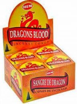 Hem DRAGONS BLOOD Cones