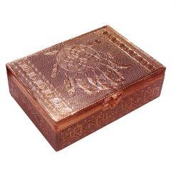 ALUMINIUM COPPER PLATED DREAM CATCHER BOX