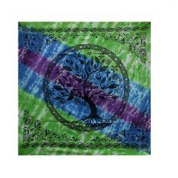 ALTAR CLOTH – Tree of Life Multi Faith Cotton 90x90cm