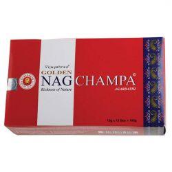 Golden Nag CHAMPA Masala Incense