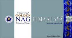 Golden Nag HIMAALAYA Masala Incense