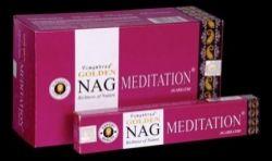 Golden Nag MEDITATION Masala Incense