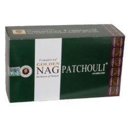 Golden Nag PATCHOULI Masala Incense