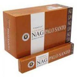 Golden Nag PALO SANTO Masala Incense