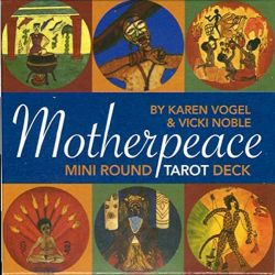 MINI MOTHERPEACE ROUND TAROT DECK