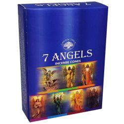 GREEN TREE CONES – 7 ANGELS
