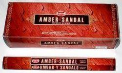 HEM Incense Garden AMBER SANDAL