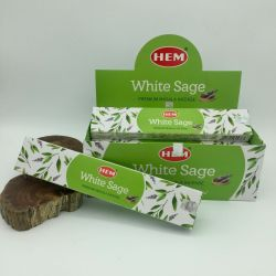 HEM Masala  WHITE SAGE Incense