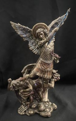 ARCHANGEL MICHAEL female version Statue 33cmH