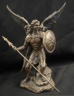 ARCHANGEL RAPHAEL (SMALL) Statue  24cm H