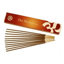 OM Musk Incense Sticks 15g
