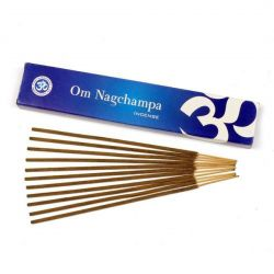 OM Nagchampa Incense Sticks 15g