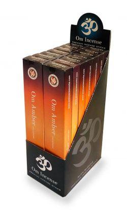 OM Amber Incense Incense 15g