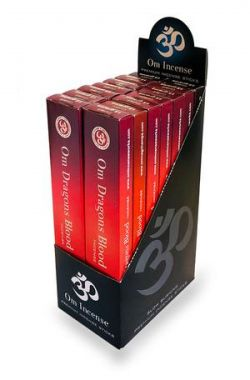 OM Dragons blood  Incense Sticks  15g