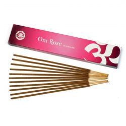 OM Rose Incense Sticks 15g