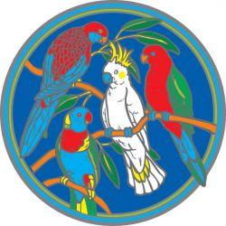 SUNSEAL AUSTRALIAN NATIVE BIRDS