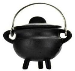 Cauldron Black Cast Iron Small