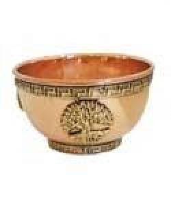 Copper Tree Of Life Bowl 8cm