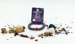 Magnetic Hematite Zodiac Bracelet - VIRGO
