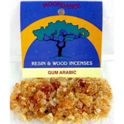 Resins Gum Arabic Granules 25g Packet