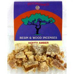 Resins Honey Amber Granules 5g Packet