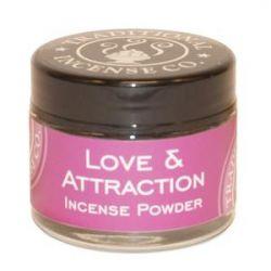 Love & Attraction Incense Powder -20gm Glass Jar