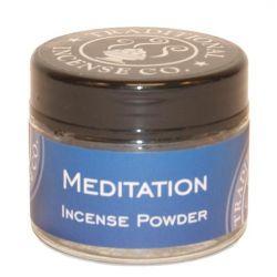 Meditation Incense Powder - 20gm Glass Jar