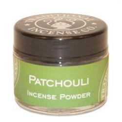 Patchouli Incense Powder - 20gm Glass Jar