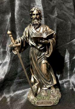 SAINT PAUL Statue 20cm Tall