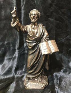 SAINT PETER Statue 21cm Tall