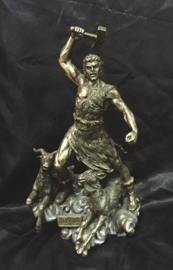 THOR Norse God Statue 31cm Tall