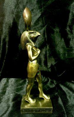 HORUS Egyptian God Statue  22cm High