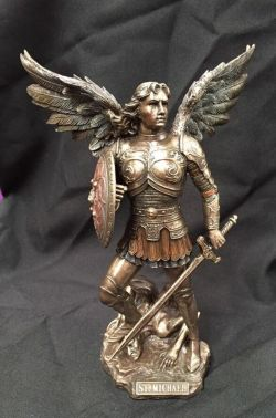 ARCHANGEL MICHAEL (SMALL)  Statue  23cm H