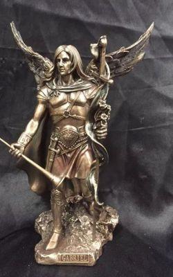 ARCHANGEL GABRIEL(SMALL) Statue 23cm H
