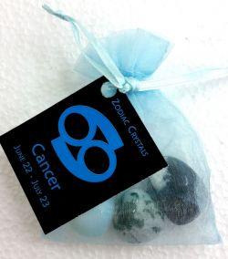 Zodiac Crystal Bag CANCER
