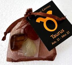 Zodiac Crystal Bag TAURUS
